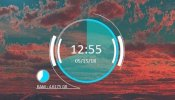 RKS Clockwork Rainmeter skin