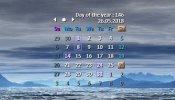 CalendarSuite VR1.1 Rainmeter skin