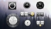 HTC Sense Clocks Rainmeter skin