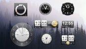 HTC Sense Clocks Rainmeter skin