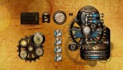 BB'B Steampunk Rainmeter skin