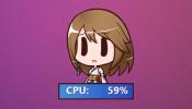 Yuna CPU Rainmeter skin