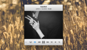 iTunes MiniPlayer Rainmeter skin