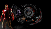 Iron Man Mark 7 Rainmeter skin