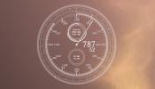 The Minute Clock Rainmeter skin