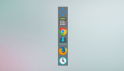 Docker Rainmeter skin