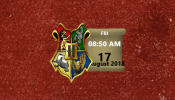 Hogwarts Houses Rainmeter skin