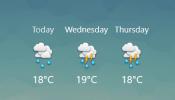 Tick Weather V2 Rainmeter skin