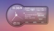 SnippyShip Rainmeter skin
