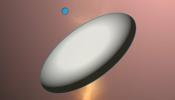 UFO Rainmeter skin
