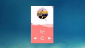 Spotify Player Rainmeter skin