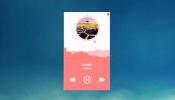Spotify Player Rainmeter skin