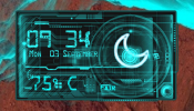 Circuit HD Rainmeter skin
