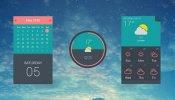 UI-Plano Rainmeter skin