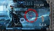 Metal Gear Rising Animated Desktop Rainmeter skin