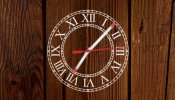 Roman Style Clock Rainmeter skin