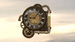 Steam Clock Skin