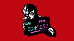 Persona5 System Skin