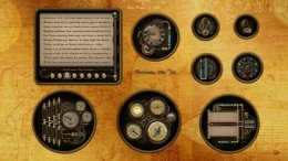 Steampunk Cogs, Tubes and Gauges Skin