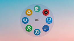 Animated Circular Icon Launcher Skin