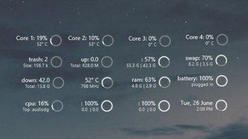 131+ Rainmeter Hdd Skins [Windows 10/8/7]