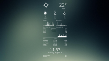 171+ Rainmeter System Monitor Skins [Windows 10/8/7]
