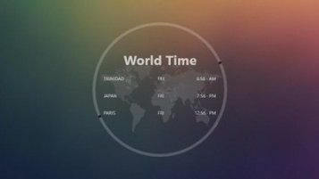 World Time Skin