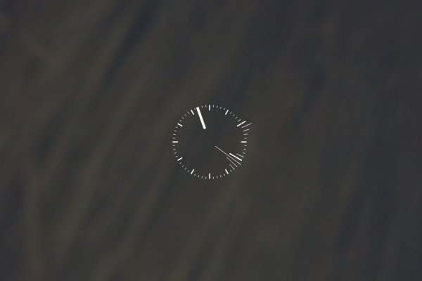 Beta Clock Rainmeter Skin #1