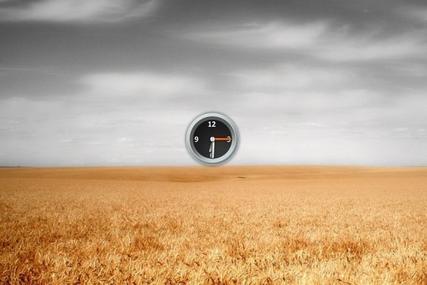 Torque Analog Clock Rainmeter Skin #3
