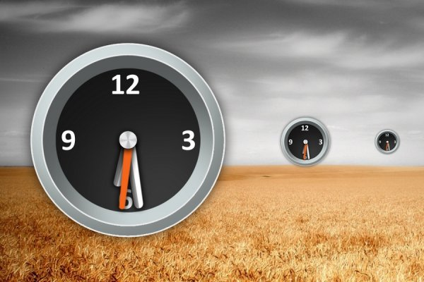 Torque Analog Clock Rainmeter Skin #1