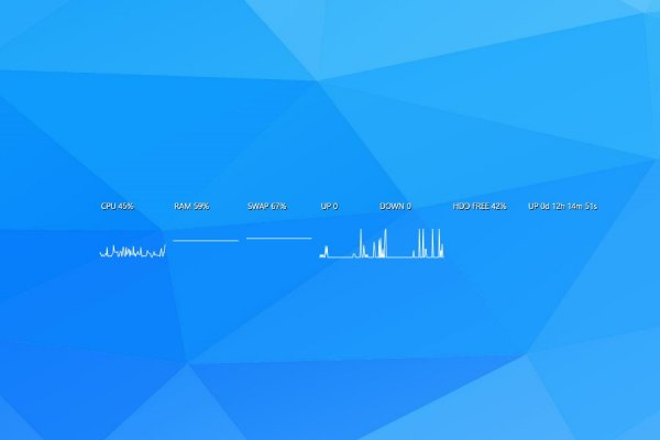 InfoBar and Graphs Rainmeter Skin #2