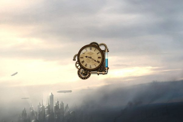 Steam Clock Rainmeter Skin #2