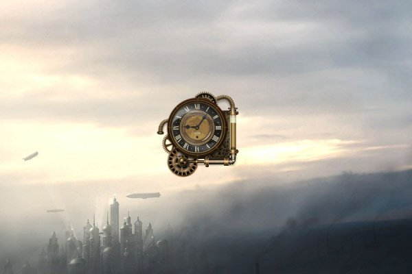 Steam Clock Rainmeter Skin #1