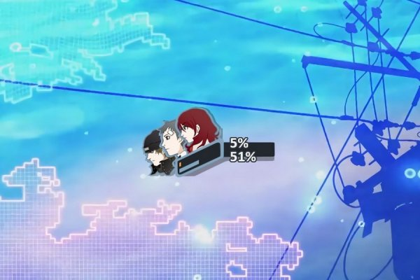 Persona 3: Battle HUD Rainmeter Skin #2