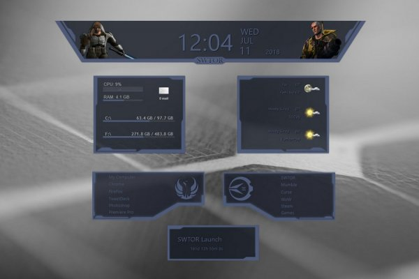 SWTOR Republic Rainmeter Skin #2