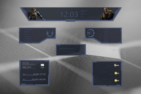 SWTOR Republic Rainmeter Skin #1
