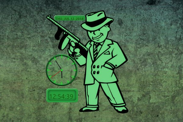 Fallout 3 Clock and Calendar Rainmeter Skin #1