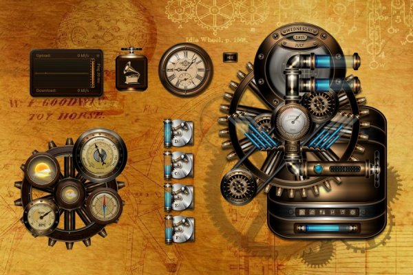 BB'B Steampunk Rainmeter Skin #2