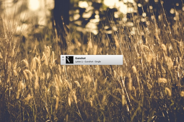 ITunes MiniPlayer Rainmeter Skin #2