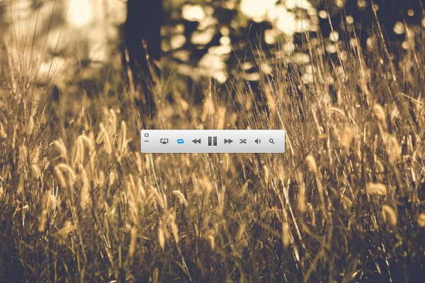 ITunes MiniPlayer Rainmeter Skin #3