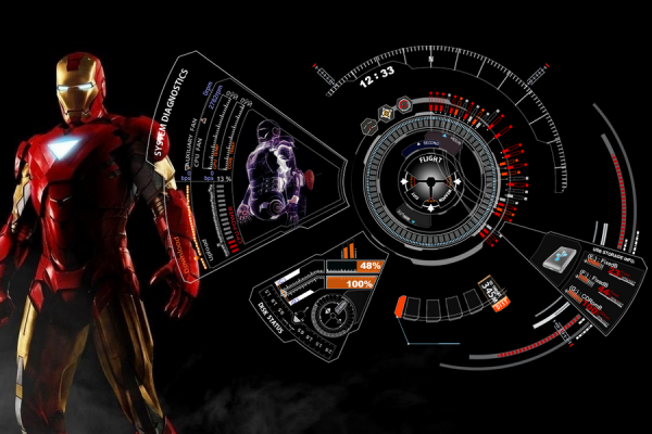 Iron Man Mark 7 Rainmeter Skin #2