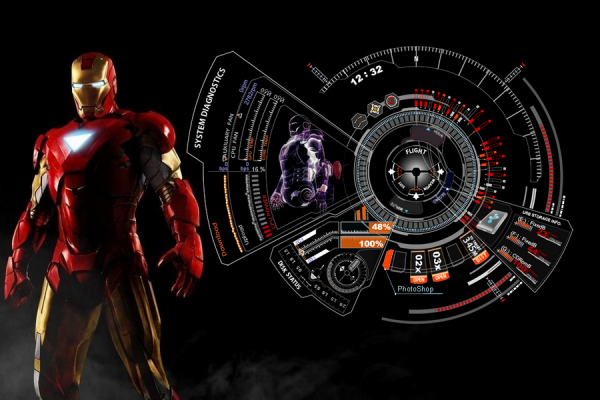 Iron Man Mark 7 Rainmeter Skin #1