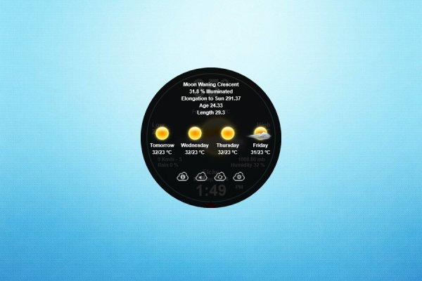 Circle Weather Rainmeter Skin #2
