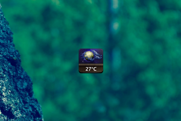 Jaku Weather Rainmeter Skin #1