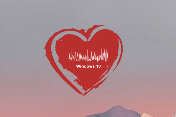 Heart Visualizer Rainmeter Skin #1