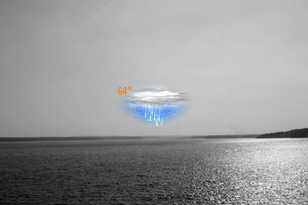 Wearher Now Rainmeter Skin #3