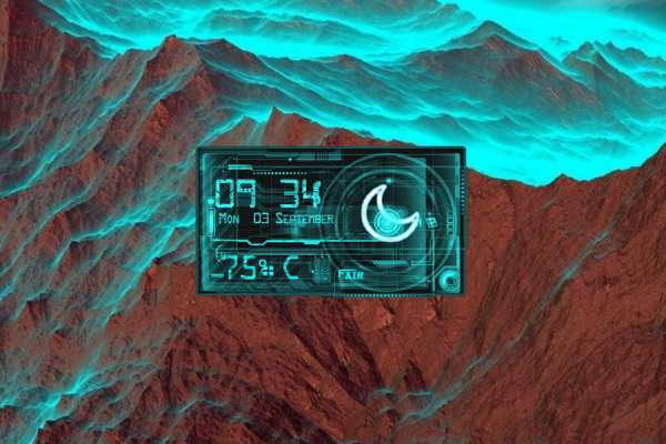 Circuit HD Rainmeter Skin #2