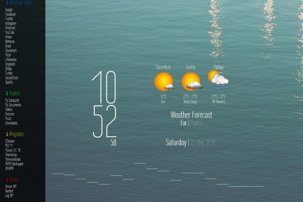 Wire One Rainmeter Skin #1