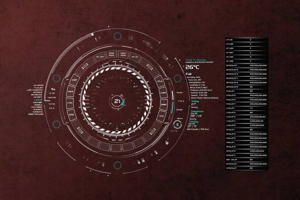 TECH-A Rainmeter Skin #2