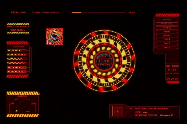 Reactor Rainmeter Skin #1